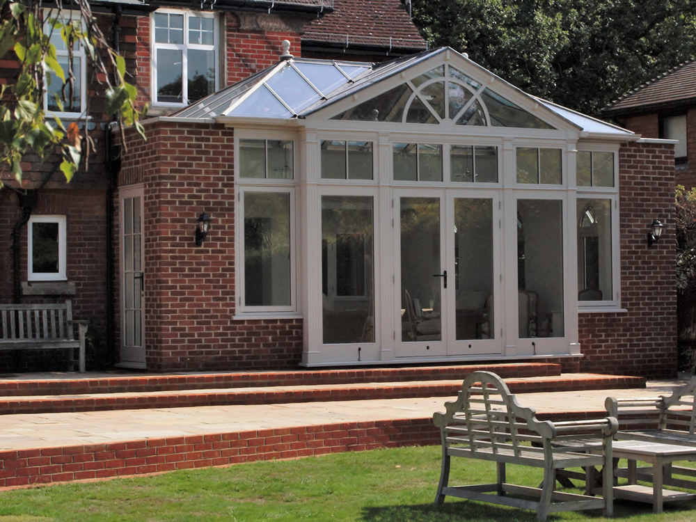 Bespoke Orangery / Conservatory and landscaping