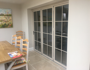 Bifolding Doors Add Feeling of Space To Your Conservatory Area