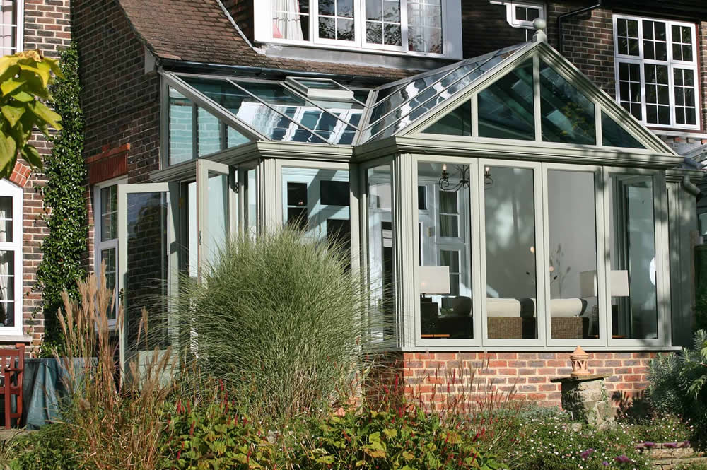 Glass extensions verandas for houses conservatory for House plans with conservatory