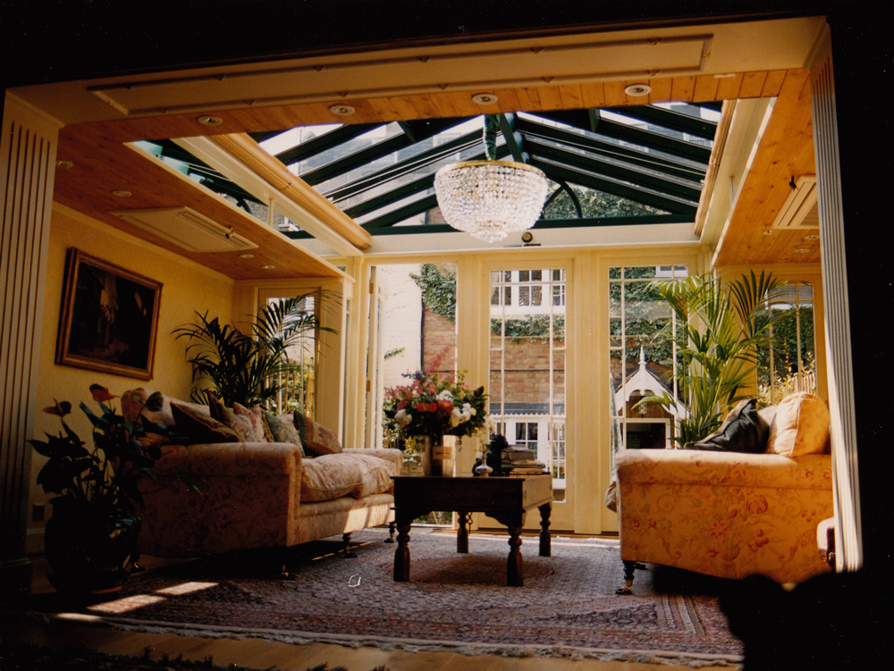 Conservatories Verandas And Orangeries Glass Roof